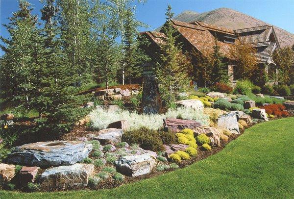 rock garden landscape pictures